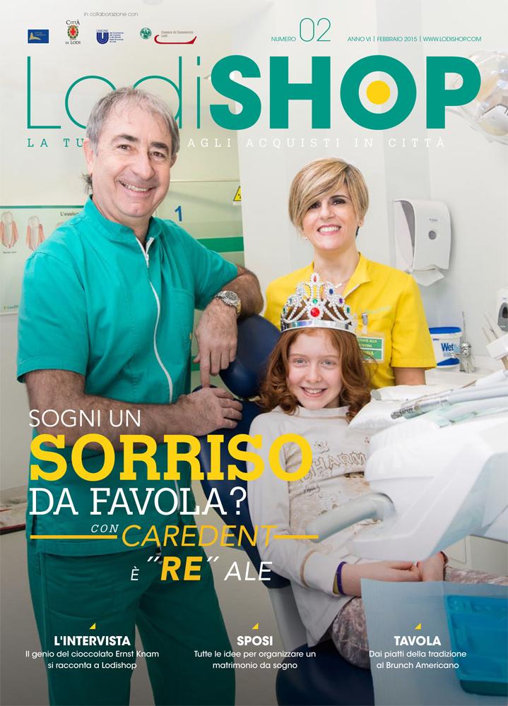 Caredent Lodi dentista implantologia salute igiene Lodishop