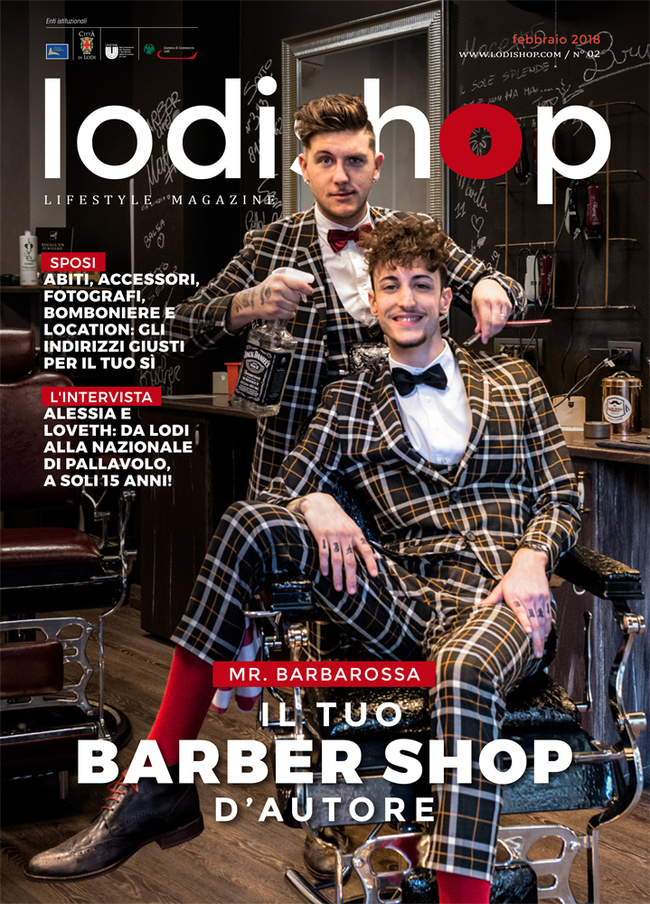 Mr Barbarossa Barber Shop Lodi Lodishop barbiere uomo
